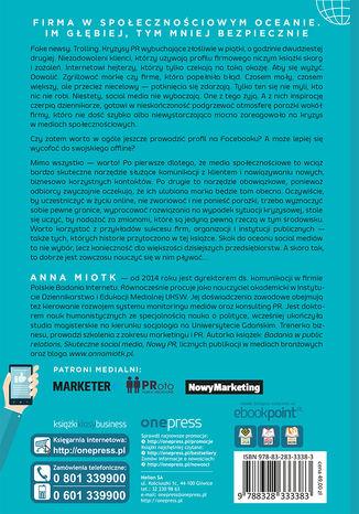 Tył okładki książki/ebooka Skuteczne social media. Prowadź działania, osiągaj zamierzone efekty. Wydanie 2 rozszerzone