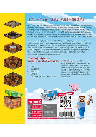Tył okładki książki/ebooka Wirtualny świat z klocków LEGO. Projekty do samodzielnego wykonania