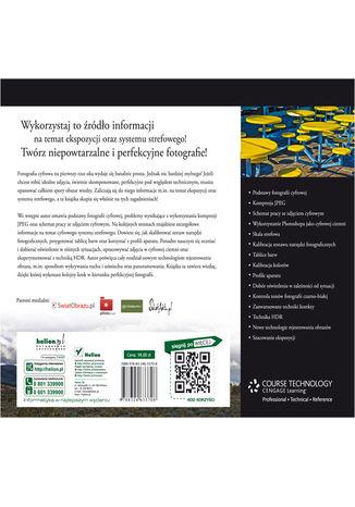 Tył okładki książki/ebooka Tajniki ekspozycji i systemu strefowego dla fotografów cyfrowych