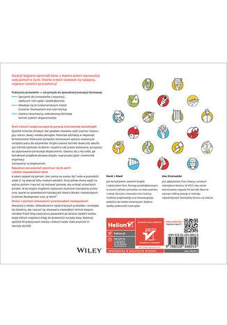 Tył okładki książki/ebooka Testowanie pomysłów biznesowych. Biblioteka technik eksperymentacyjnych