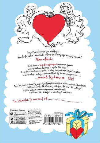 Tył okładki książki/ebooka Twój ślub optymistycznie