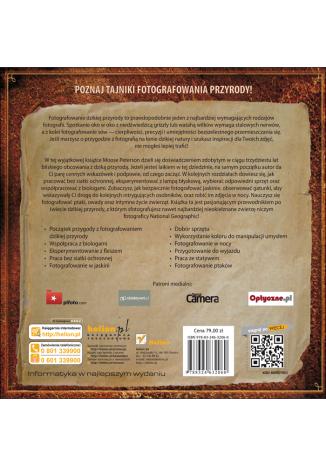 Tył okładki książki/ebooka Uchwycone obiektywem. Lekcje legendarnego fotografa dzikich zwierzat