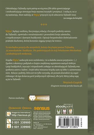 Tył okładki książki/ebooka Wgląd. Buddyzm, Tajlandia, ludzie. Wydanie III