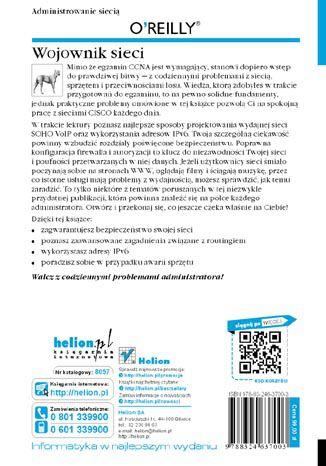 Tył okładki książki/ebooka Wojownik sieci. Wydanie II