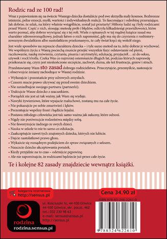 Tył okładki książki/ebooka Zasady rodzicielstwa. Jak być dobrym i mądrym rodzicem