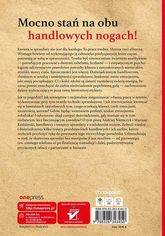 Tył okładki książki/ebooka Zawód: handlowiec. Skuteczna sprzedaż bez manipulacji. Wydanie 2 rozszerzone