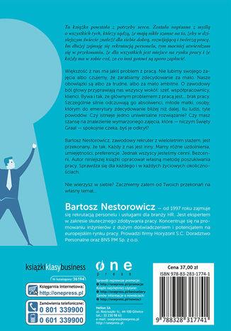Tył okładki książki/ebooka Zdobywanie pracy. Odkryj klucz do sukcesu zawodowego