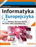 tytuł: Informatyka Europejczyka. Podręcznik dla gimnazjum. Edycja: Windows XP, Linux Ubuntu, MS Office 2003, OpenOffice.org (wydanie III) autor: Jolanta Pańczyk