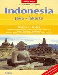 Indonezja. Jawa Dżakarta. Mapa nelles 1:750 000 / 1:22 500
