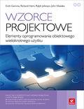 tytuł: Wzorce projektowe. Elementy oprogramowania obiektowego wielokrotnego użytku autor: Erich Gamma, Richard Helm, Ralph Johnson, John Vlissides