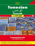 Tunezja. Mapa samochodowa