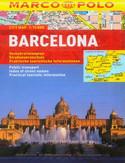 Barcelona. Mapa Marco Polo 1:15 000