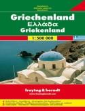 Grecja. Mapa Freytag & Berndt 1:500 000