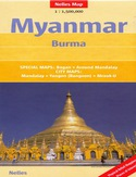 Myanmar (Birma). Mapa Nelles /1:1 500 000