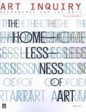 Art Inquiry. Recherches sur les arts.  Volume XIII (XXII)