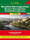 Bośnia i Hercegowina. Mapa Freytag & Berndt / 1:200 000