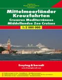 Morze Śródziemne. Mapa samochodowa