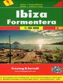 Ibiza i Fromentera. Mapa Freytag & Berndt / 1:40 000
