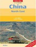 Chiny Północno-Wschodnie. Mapa samochodowa