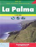 La Palma. Mapa turystyczna Freytag & Berndt / 1:30 000