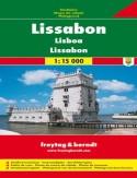 Lizbona. Mapa Freytag & Berndt 1:15 000