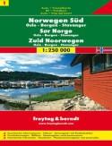 Norwegia Południowa (cz.1). Mapa Freytag & Berndt 1:250 000