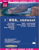 USA południowy zachód. Mapa Reise Know-How / 1:1 250 000