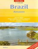 Brazylia, Amazonka. Mapa Nelles 1:2 500 000