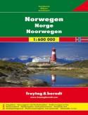 Norwegia mapa 1:600 000 Freytag & Berndt