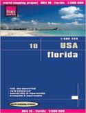 USA - Floryda. Mapa Reise Know-How / 1:500 000