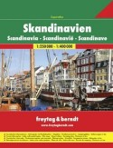 Skandynawia. Atlas Freytag & Berndt 1:250 000-1:400 000