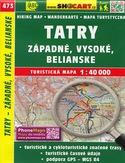Tatry - západné, Vysoké, Belianské, 1:40 000