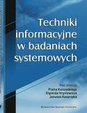 Księgarnia Techniki informacyjne w badaniach systemowych