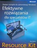 Księgarnia Zestaw narzędzi do administracji Windows. Efektywne rozwiązania dla specjalistów IT Resource Kit + płyta CD
