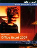 Księgarnia Microsoft Office Excel 2007: Egzamin 77-602 z płytą CD