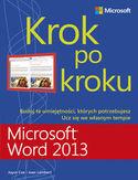 Księgarnia Microsoft Word 2013. Krok po kroku