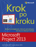 Księgarnia Microsoft Project 2013. Krok po kroku