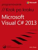Księgarnia Microsoft Visual C# 2013 Krok po kroku
