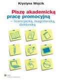 Księgarnia Piszę akademicką pracę promocyjną - licencjacką, magisterską, doktorską