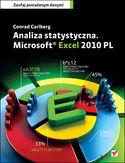Księgarnia Analiza statystyczna. Microsoft Excel 2010 PL