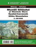 Góry Gilau. Mapa turystyczna
