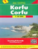 Korfu Mapa 1:50 000 Freytag & Berndt