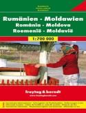 Rumunia Mołdawia. Mapa 1:700 000