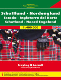 Szkocja. Mapa Freytag & Berndt 1:400 000