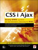 Księgarnia CSS i Ajax. Strony WWW zgodne ze standardami sieciowymi W3C
