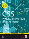 Księgarnia CSS. Witryny internetowe szyte na miarę. Autorytety informatyki. Wydanie III