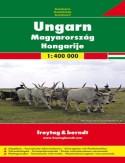 Węgry. Mapa Freytag & Berndt 1:400 000