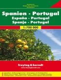 Hiszpania Portugalia. Mapa 1:700 000