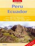 Peru. Ekwador. Mapa