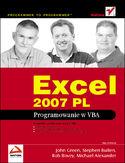 Księgarnia Excel 2007 PL. Programowanie w VBA